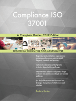 Compliance ISO 37001 A Complete Guide - 2019 Edition
