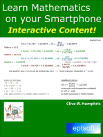 Learn Mathematics On Your Smartphone