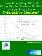 Learn Accounting, Maths and Computing for Business Studies on Your Smartphone