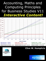 Accounting, Maths and Computing for Business Studies V11