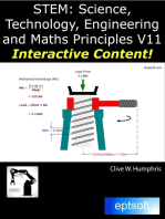 Stem Science, Technology, Engineering and Maths Principles V11