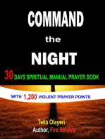 Command the Night 30 Days Spiritual Manual Prayer Book