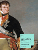 Ensayo imparcial sobre el gobierno del rey don Fernando VII: Edición anotada