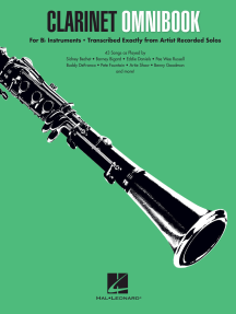 Clarinet Omnibook for B-flat Instruments: Transcribed Exactly from Artist Recorded Solos