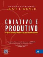 Criativo e produtivo