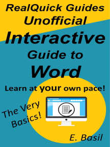 RealQuick Guides Unofficial Interactive Guide to Word