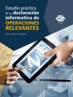 Estudio práctico de la declaración informativa de operaciones relevantes 2019