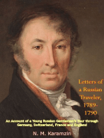 Letters of a Russian Traveler, 1789-1790