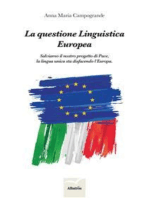 La questione Linguistica Europea