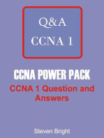 CCNA POWER PACK : CCNA 1 Question and Answers (CCNA Power Pack Book 1): CCNA Power Pack, #1