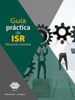 Guía práctica de ISR. Personas morales 2019
