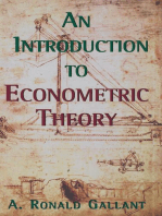 An Introduction to Econometric Theory: Measure-Theoretic Probability and Statistics with Applications to Economics