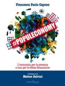 #Populeconomy: L'economia per le persone e non per le élites finanziarie