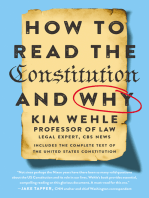 How to Read the Constitution--and Why