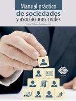 Manual práctico de sociedades y asociaciones civiles 2019