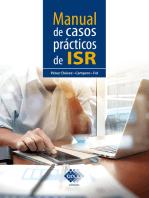 Manual de casos prácticos de ISR 2019