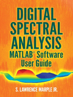 Digital Spectral Analysis MATLAB® Software User Guide