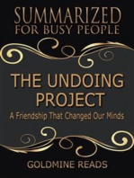 The Undoing Project - Summarized for Busy People