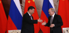 As Relations With U.S. Sour, Xi Describes Putin As 'Best Friend' At Moscow Meeting