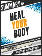 """Summary Of """"Heal Your Body"""
