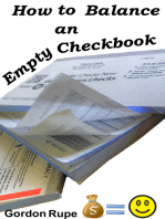 How to Balance an Empty Checkbook