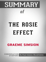 Summary of The Rosie Effect