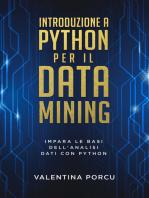 Introduzione a Python per il data mining