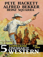 Sammelband 5 eisenharte Western Juni 2019