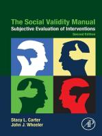 The Social Validity Manual