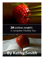 20 Eating Habits
