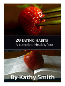 20 Eating Habits : A Complete Healthy You: Amazing Recipes, #6