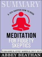 Summary of Meditation for Fidgety Skeptics