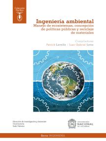 Ingeniería ambiental: Manejo de ecosistemas, concepción de políticas públicas y reciclaje de materiales
