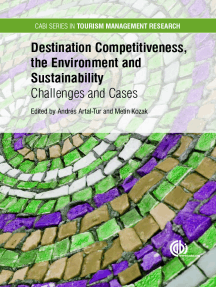 Destination Competitiveness, the Environment and Sustainability: Challenges and Cases