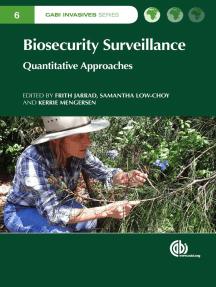 Biosecurity Surveillance: Quantitative Approaches