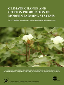 Climate Change and Cotton Production in Modern Farming Systems
