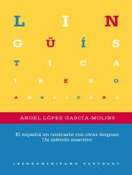 El español en contraste con otras lenguas