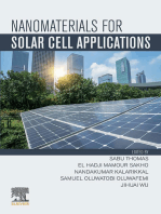 Nanomaterials for Solar Cell Applications