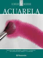 Acuarela: Método para aprender, dominar y disfrutar los secretos del dibujo y la pintura