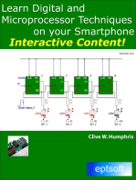 Learn Digital and Microprocessor Techniques on Your Smartphone