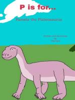 P is for... Pamela the Plateosaurus