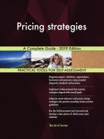 Pricing strategies A Complete Guide - 2019 Edition