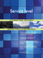 Service level A Complete Guide - 2019 Edition