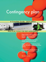 Contingency plan A Complete Guide - 2019 Edition