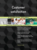 Customer satisfaction A Complete Guide - 2019 Edition