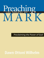 Preaching the Gospel of Mark