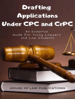 Drafting Applications Under CPC and CrPC