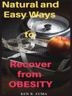 Natural and Easy Ways to Recover from Obesity