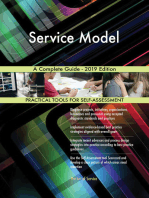 Service Model A Complete Guide - 2019 Edition