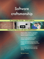 Software craftsmanship A Complete Guide - 2019 Edition